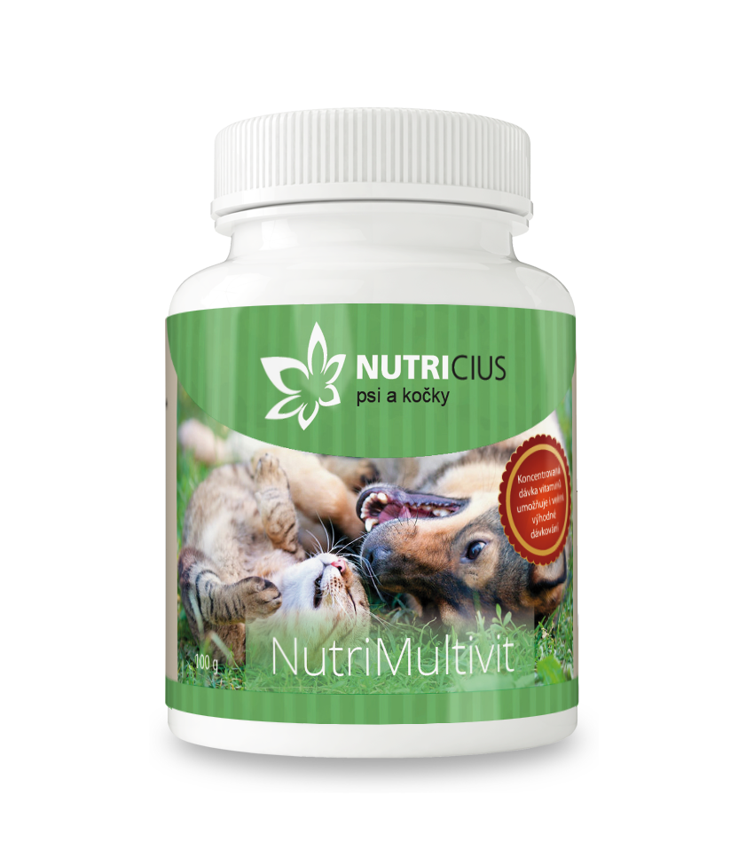 5fbb2d7bb8db Nutricius NutriMultivit - multivitamin pro psi a kočky 100 g