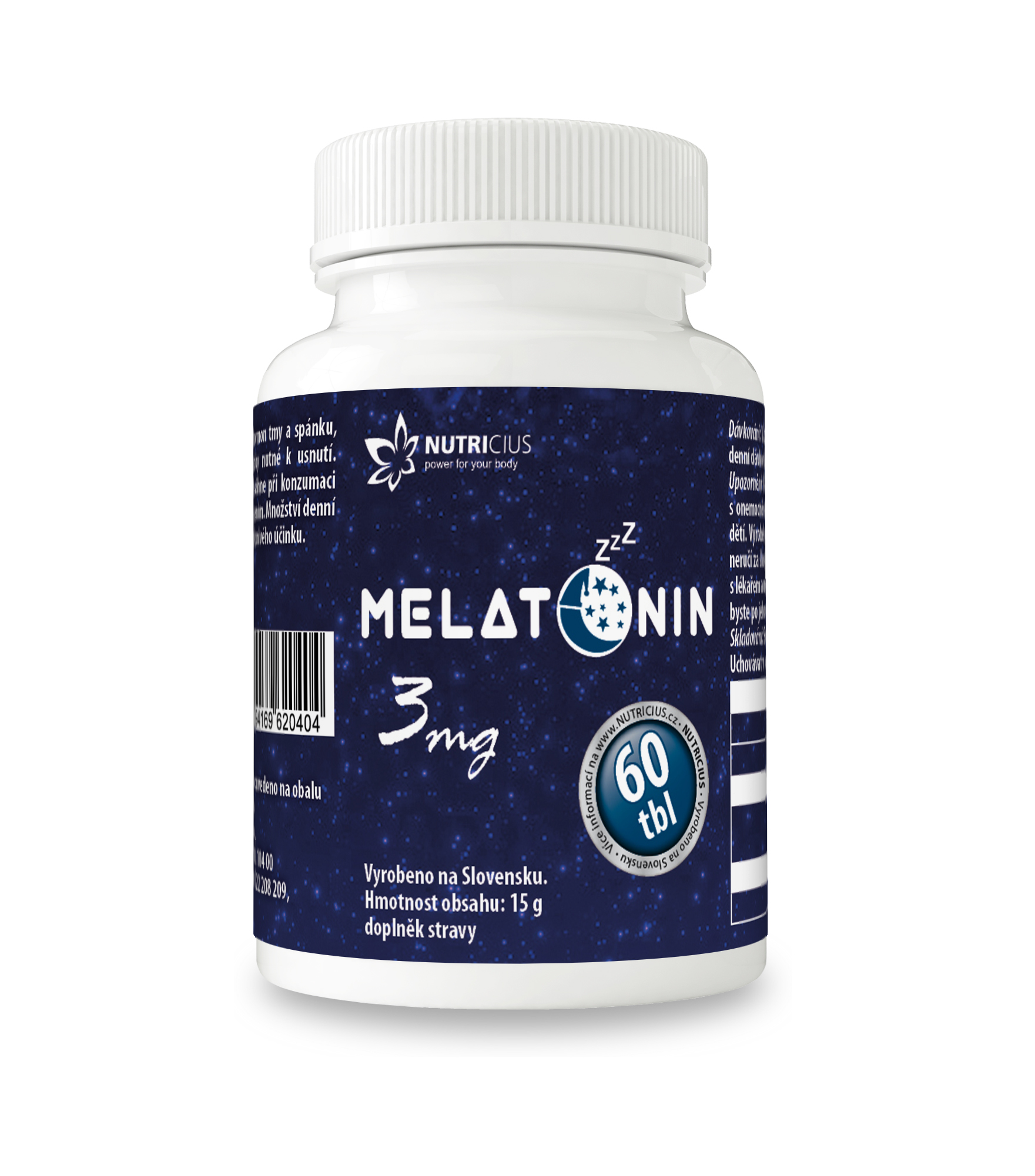 Melatonin 3mg tbl.60